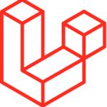 Logo del framework backend Laravel