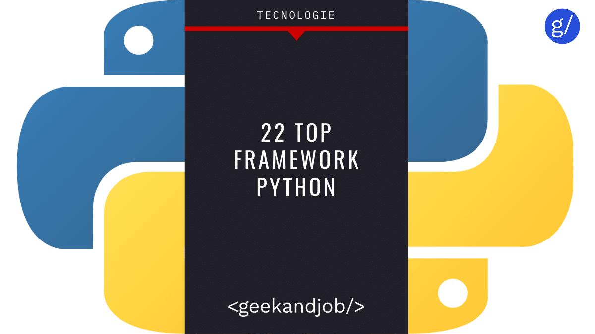 I Migliori Framework Python da Conoscere per lo Sviluppo Web
